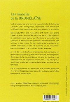 Livres Couvertures de La bromelaine