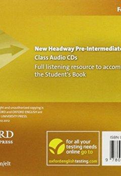 Livres Couvertures de New Headway: Pre-Intermediate: Class Audio CDs