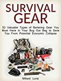 Survival Gear: 53 Valuable Types of Bartering Gear You Must Have in Your Bug Out Bag to Save You From Potential Economic Collapse (Survival Gear, shtf, emergency preparedness)