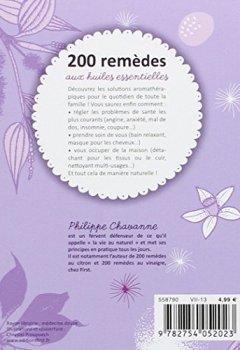 Livres Couvertures de 200 remèdes aux huiles essentielles