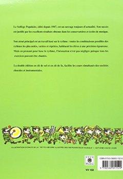 Livres Couvertures de Solfège populaire - clé de sol
