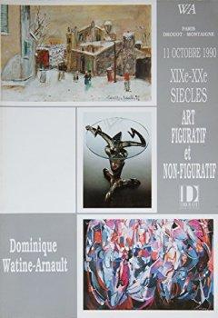 Livres Couvertures de Vente du 11 octobre 1990, Paris, Drouot Montaigne, XIXe, XXe siècles, art figuratif et non-figuratif