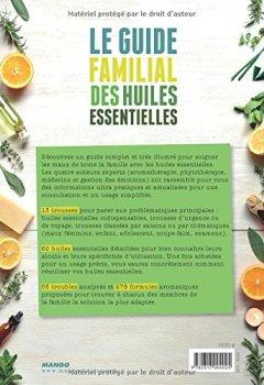 Livres Couvertures de Le guide familial des huiles essentielles