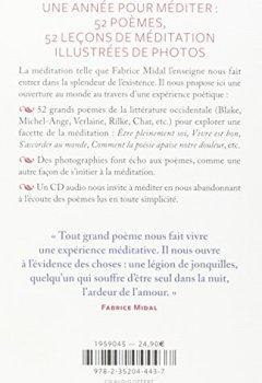 Livres Couvertures de ETRE AU MONDE : MEDITER AVEC LA POESIE + CD