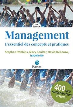 Livres Couvertures de Management 10e édition + QCM