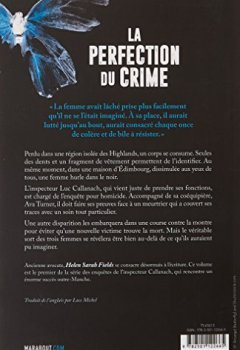 Livres Couvertures de La perfection du crime
