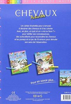 Livres Couvertures de Les chevaux : Activités