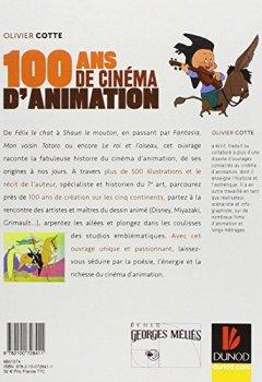 Livres Couvertures de 100 ans de cinéma d'animation