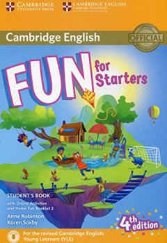 Livres Couvertures de Fun for Starters Student's Book with Online Activities with Audio and Home Fun Booklet 2