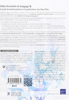Livres Couvertures de Data Scientist et langage R - Guide d'autoformation à l'exploitation des Big Data