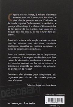 Livres Couvertures de Désobéir pour les animaux