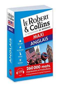 Livres Couvertures de Dictionnaire Le Robert & Collins Maxi anglais