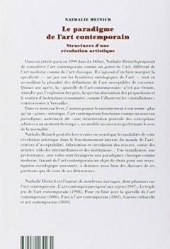 Livres Couvertures de Le paradigme de l'art contemporain : Structures d'une révolution artistique
