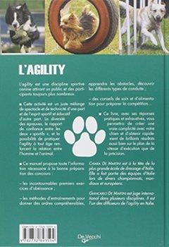 Livres Couvertures de L'Agility : Formation de base et techniques de compétition