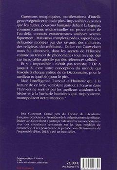 Livres Couvertures de Le nouveau dictionnaire de l'impossible