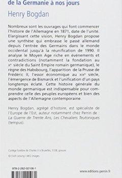 Livres Couvertures de Histoire de l'Allemagne