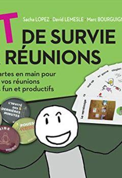 Livres Couvertures de Kit de survie aux réunions : Toutes les cartes en main pour transformer vos réunions en moments funs et productifs