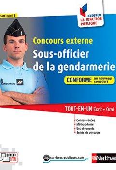 Livres Couvertures de Concours externe Sous-officier de la gendarmerie (23)