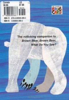 Livres Couvertures de Polar Bear, Polar Bear, What Do You Hear?