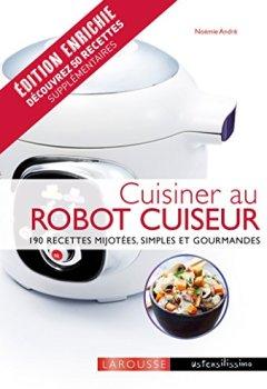 Livres Couvertures de Cuisiner au robot cuiseur