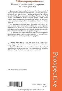 Livres Couvertures de Attitudes prospectives : Eléments d'une histoire de la prospective en France après 1945