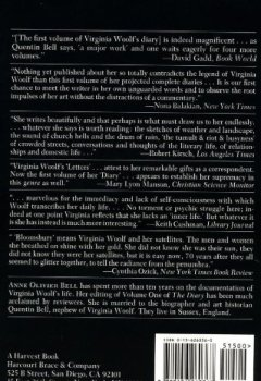 Livres Couvertures de The Diary of Virginia Woolf, Volume 1: 1915-1919