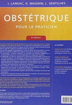 Livres Couvertures de Obstétrique pour le praticien