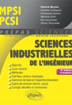Livres Couvertures de Sciences industrielles de l'ingénieur MPSI - PCSI - 3e édition actualisée