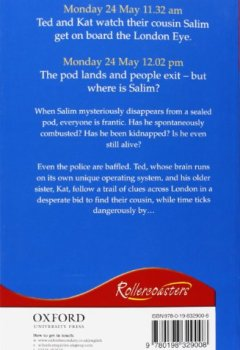 Livres Couvertures de Rollercoasters: London Eye Mystery Reader