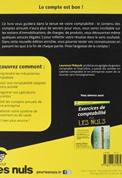 Livres Couvertures de La comptabilité Pour les Nuls, 2ème édition