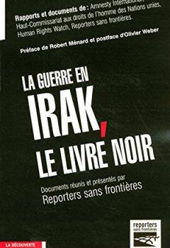 Livres Couvertures de La guerre en Irak, le livre noir