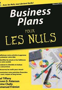Livres Couvertures de Business Plans Pour les Nuls