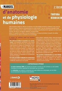 Livres Couvertures de Manuel d'anatomie et de physiologie humaines
