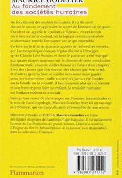 Livres Couvertures de Au fondement des sociétés humaines : Ce que nous apprend l'anthropologie