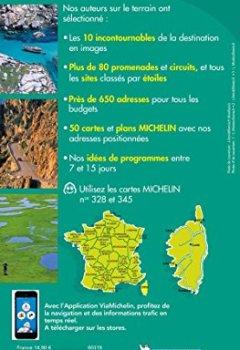Livres Couvertures de Guide Vert Corse Michelin