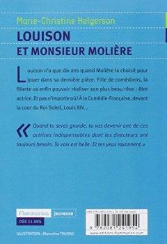 Livres Couvertures de Louison et monsieur Molière