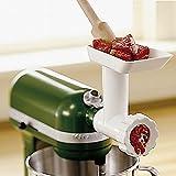Kitchenaid Food Meat Grinder Chopper Attachment Stand Mixer Kitchen Home Sausage