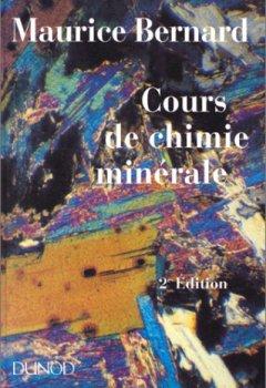 Livres Couvertures de COURS DE CHIMIE MINERALE. 2ème édition revue et augmentée