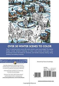 Livres Couvertures de Winter Wonderland Coloring Book