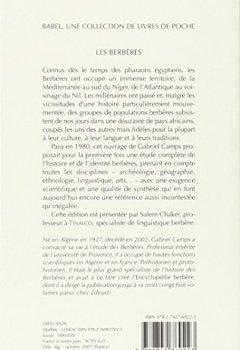 Livres Couvertures de Les Berbères : Mémoire et identité