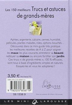Livres Couvertures de Les 150 meilleurs trucs et astuces de grands-mères