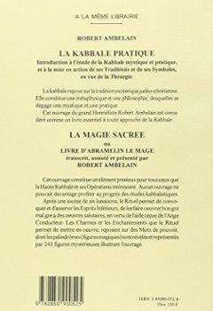 Livres Couvertures de Les Sept Livres de l'archidoxe magique