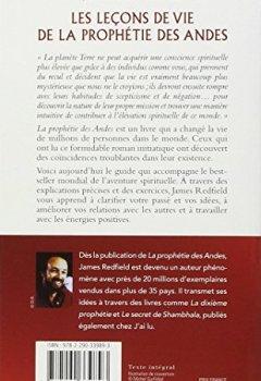 Livres Couvertures de Les leçons de vie de la prophétie des Andes - Découvrez votre mission sur terre