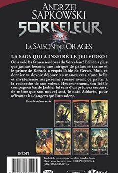 Livres Couvertures de Sorceleur, Tome : La Saison des orages