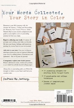Livres Couvertures de Art Journal Art Journey: Collage and Storytelling for Honoring Your Creative Process