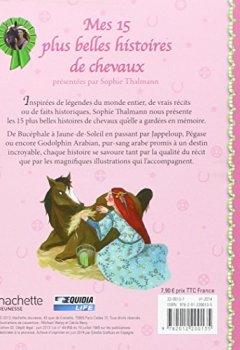 Livres Couvertures de Mes 15 plus belles histoires de chevaux. Edition brochée