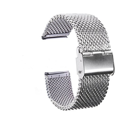 Jinsen-22mm-Stainless-Steel-Bracelet-Watch-Band-Strap-Straight-End-Solid-Links-for-Pebble-Time-SteelClassicZenWatchSamsung-Gear-2-G-Watch-silver-mesh-22mm