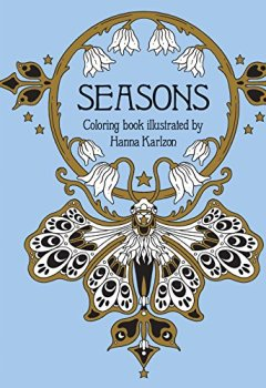 Livres Couvertures de Seasons Coloring Book: Published in Sweden As Tidevarv