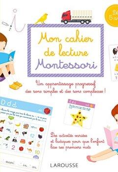 Livres Couvertures de Mon cahier de lecture Montessori