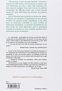 Livres Couvertures de Petit guide de calcul différentiel à l'usage de la licence et de l'agrégation